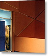 Night Interior With Window Metal Print by Ben and Raisa Gertsberg
