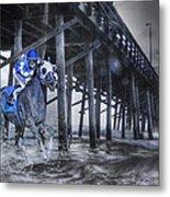 Night Run II Metal Print by Betsy Knapp
