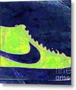 Nike Blazer 3 Metal Print by Alfie Borg