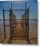 No Admittance Metal Print by Kay Pickens