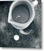 No Cream For My Coffee Metal Print by Bob Orsillo
