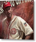 No Crying In Baseball Metal Print by Steve Goad