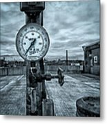 No Pressure Or The Valve At The Top Of The City  Metal Print by Bob Orsillo