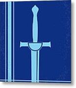 No034 My Highlander Minimal Movie Poster.jpg Metal Print by Chungkong Art