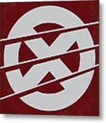 No123 My Xmen Minimal Movie Poster Metal Print by Chungkong Art