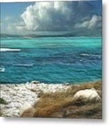 Nonsuch Bay Antigua Metal Print by John Edwards