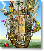 Norah's Ark Metal Print by Colin Thompson