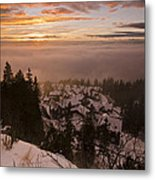 Norge Metal Print by Aaron S Bedell