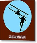 North By Northwest Poster 2 Metal Print by Naxart Studio