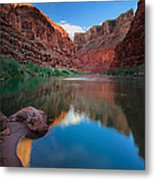 North Canyon Number 1 Metal Print by Inge Johnsson