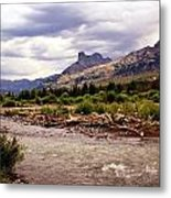 North Of Dubois 3 Metal Print by Marty Koch