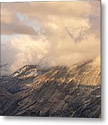 North Valley Panoramic Metal Print by Bill Gallagher