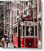 Nostalgic Tram 01 Metal Print by Rick Piper Photography