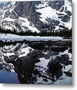 Notchtop Reflection Metal Print by Tranquil Light  Photography