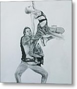Nothing Is Impossible Metal Print by Lucy D