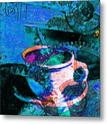 Nothing Like A Hot Cuppa Joe In The Morning To Get The Old Wheels Turning 20130718p168 Metal Print by Wingsdomain Art and Photography