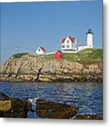 Nubble In The Day 16x20 Metal Print by Geoffrey Bolte