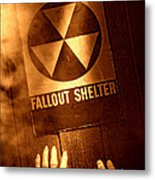 Nuclear Disaster Metal Print by Olivier Le Queinec