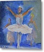 Nutcracker Ballet Metal Print by Donna Tuten