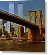 Nyc 1976 Metal Print by Benjamin Yeager