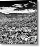Oak Creek Clouds Metal Print by John Rizzuto