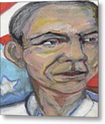 Obama 2012 Metal Print by Derrick Hayes