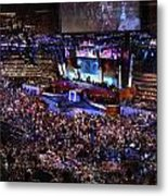 Obama And Biden At 2008 Convention Metal Print by Stephen Farley