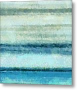 Ocean 4 Metal Print by Angelina Vick