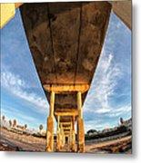 Ocean Beach California Pier 5 Metal Print by Larry Marshall