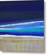Ocean Blue Metal Print by Linda Woods