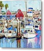 Oceanside California Metal Print by Mary Helmreich