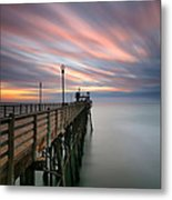 Oceanside Sunset 14 Metal Print by Larry Marshall