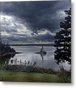 October Sky Metal Print by George Cousins