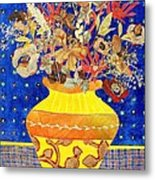 Ode To A Grecian Urn Metal Print by Diane Fine