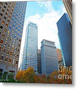 Office Space For Rent In Downtown San Francisco Metal Print by Artist and Photographer Laura Wrede