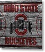 Ohio State Buckeyes Metal Print by Joe Hamilton