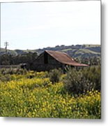 Old Barn In Sonoma California 5d22234 Metal Print by Wingsdomain Art and Photography