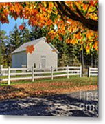 Old Bethel Church 1842 Metal Print by Dan Friend