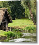 Old Boathouse Metal Print by Rick Piper Photography