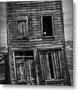 Old Bodie Building Metal Print by Garry Gay