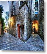 Old City Girona Metal Print by Isaac Silman