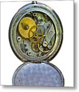 Old Clock Metal Print by Michal Boubin