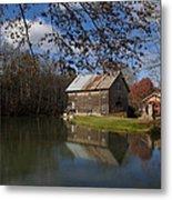Old Creek Mill Metal Print by Regina  Williams