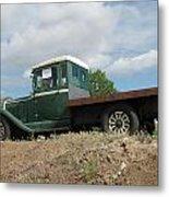 Old Dodge Truck  Metal Print by Steven Parker