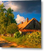 Old Farm On The Country Side Metal Print by Sasa Prudkov