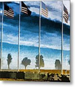 Old Glory-the American Flag Metal Print by Luther   Fine Art