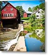 Old Grist Mill  Metal Print by Colleen Kammerer