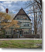 Old House On Haverford Campus Metal Print by Kay Pickens