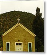 Old Lincoln City Church Metal Print by Jeff Swan