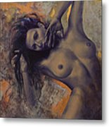 Old Love Letters Metal Print by Dorina  Costras